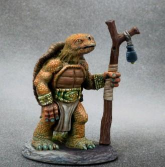 Critter Kingdoms: Tortoise Druid with Staff