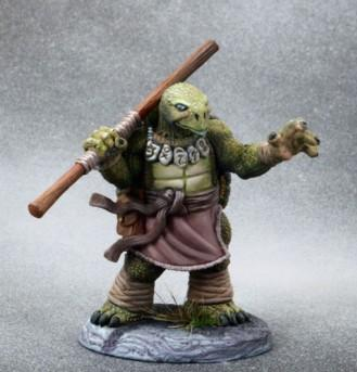 Critter Kingdoms: Tortoise Monk with Bo Staff