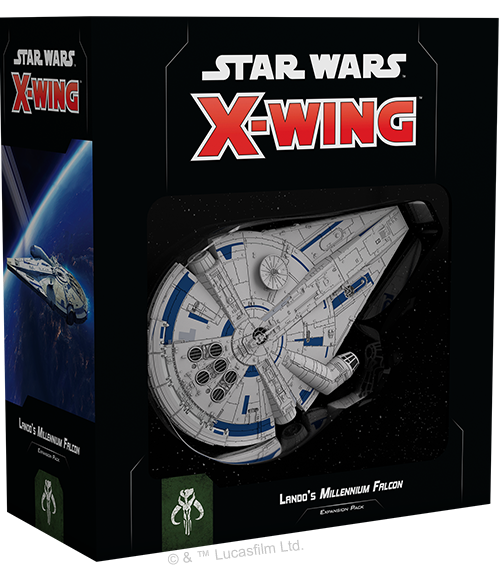X-Wing 2.0: Lando's Millennium Falcon Expansion Pack