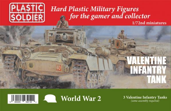 20mm WWII (British): Valentine Tank