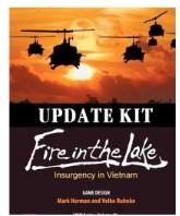 COIN Series: (Volume IV) Fire in the Lake - Insurgency in Vietnam Update Kit