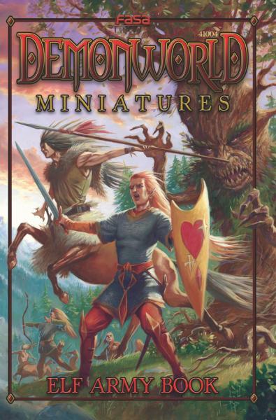 Demonworld Miniatures: Elf Army Book