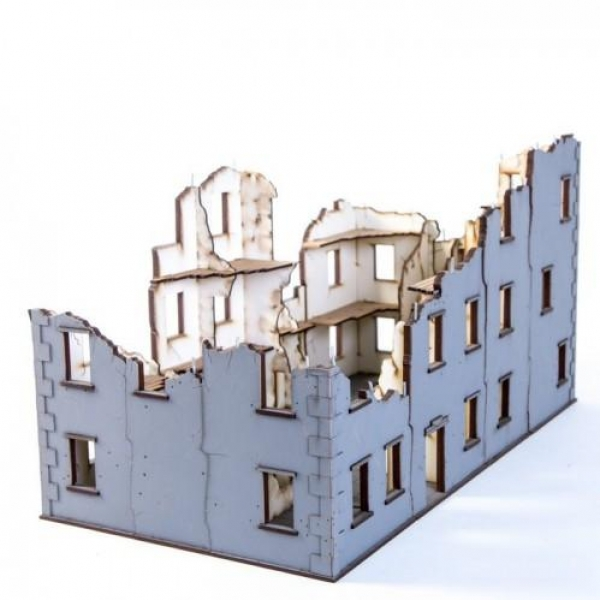 28mm Terrain: Urban Ruins - Stalingrad Apartment 01