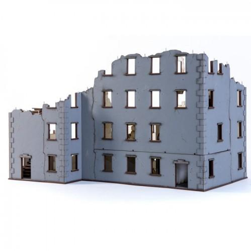 28mm Terrain: Urban Ruins - Stalingrad Apartment 02