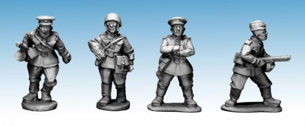 28mm WWII: (Soviet) Soviet Army Characters (4)