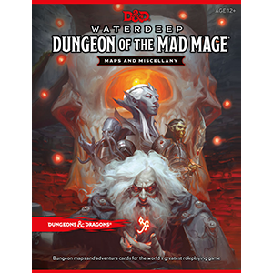 D&D: Waterdeep - Dungeon of the Mad Mage Map Pack