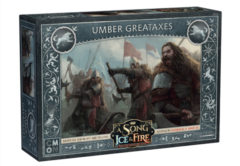 Song of Ice & Fire Miniatures Game: Umber Greataxes