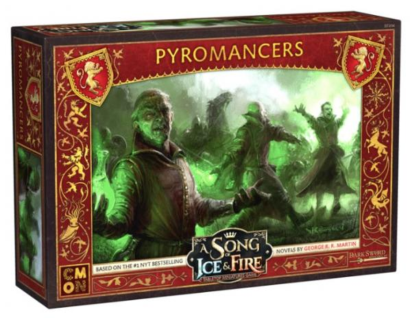 Song of Ice & Fire Miniatures Game: Lannister Pyromancers