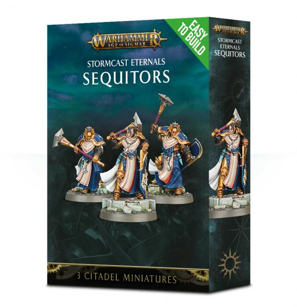 Age of Sigmar: Stormcast Eternals Sequitors (Easy to Build)
