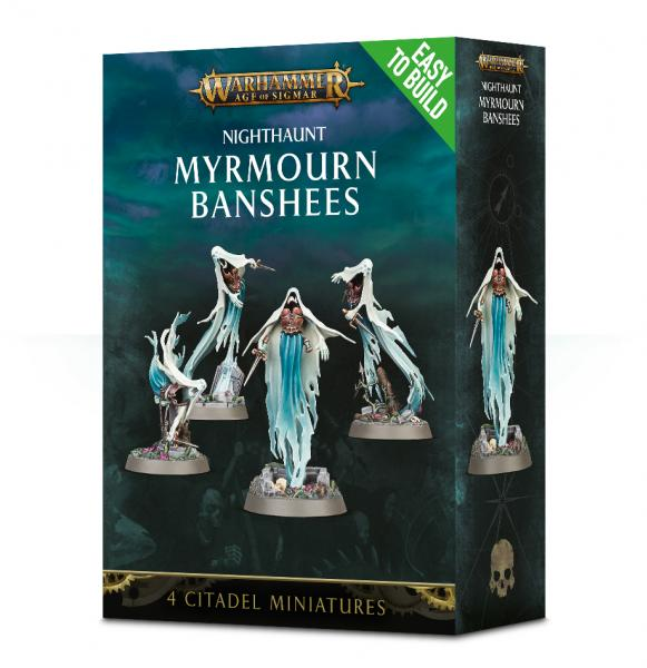 Age of Sigmar: Nighthaunt Myrmourn Banshees (Easy to Build)