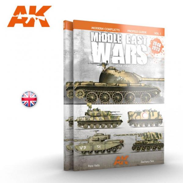 AK-Interactive: MIDDLE EAST WARS 1948-1973 PROFILE GUIDE VOL.1 - English