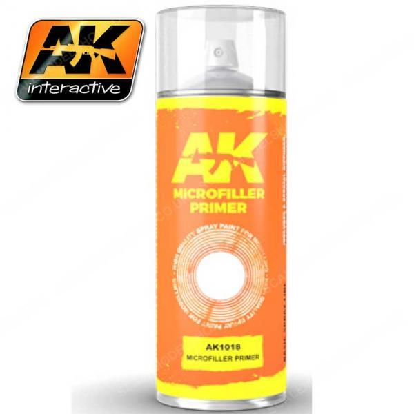 AK-Interactive: AK Sprays - Microfiller Primer (150ml)