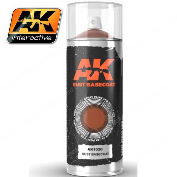 AK-Interactive: AK Sprays - Rust Base Coat (150ml)