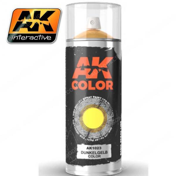 AK-Interactive: AK Sprays - Dunkelgelb Color Spray (150ml)