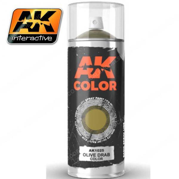 AK-Interactive: AK Sprays - Olive Drab (150ml)
