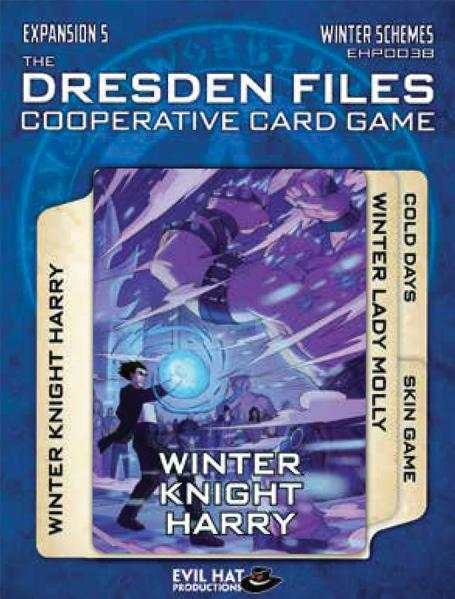The Dresden Files Cooperative Card Game: Expansion 5 - Winter Schemes