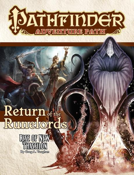 Pathfinder RPG: (Adventure Path) Rise of New Thassilon (Return of the Runelords 6/6)