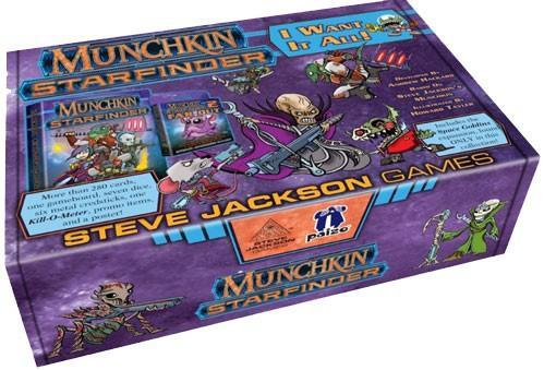 Munchkin: Starfinder - I Want It All