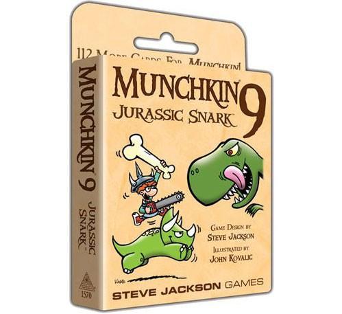Munchkin 9: Jurassic Snark Expansion
