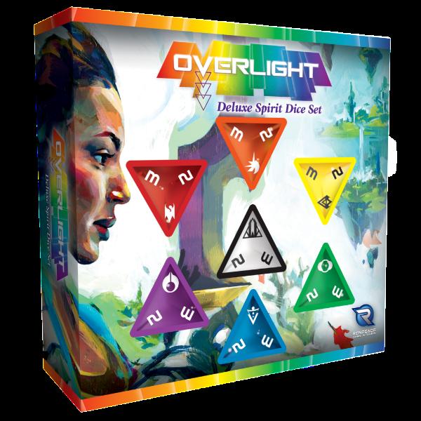 Overlight RPG: Deluxe Spirit Dice Set
