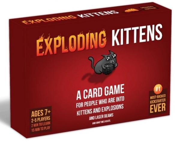 Exploding Kittens: Original Edition