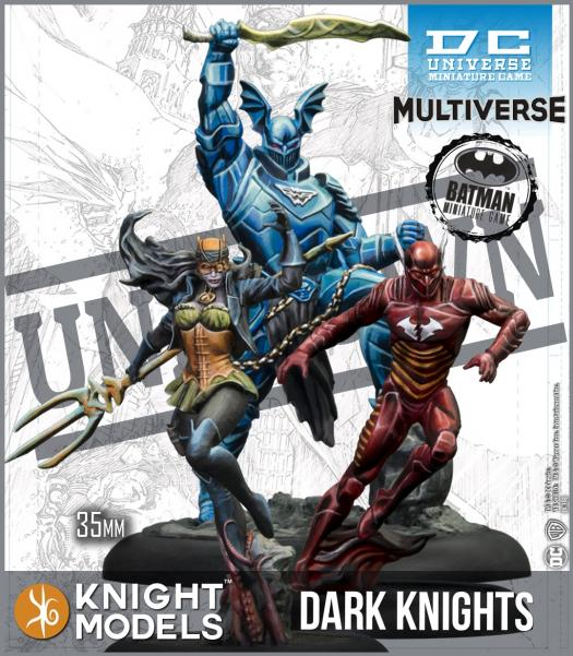 Batman Miniature Game: Dark Knights (Multiverse) (Resin)