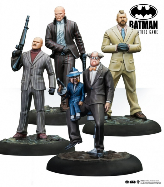 Batman Miniature Game: Ventriloquist and Mobsters (Resin)