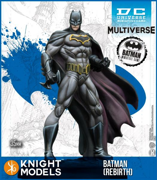Batman Miniature Game: Batman Rebirth (Multiverse) (Resin)