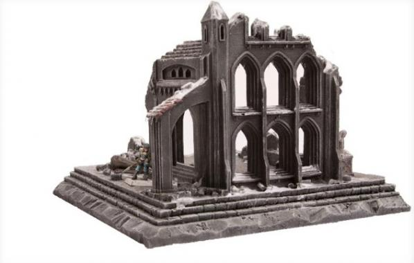 28mm Terrain: Cathedral Ruin
