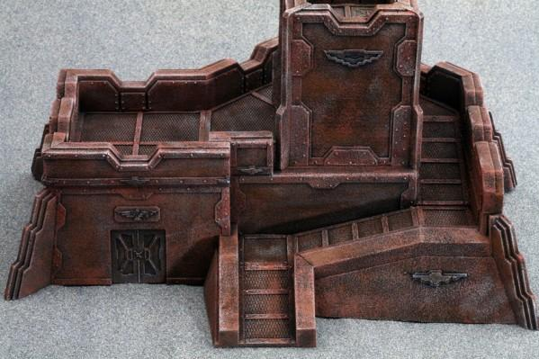 28mm Terrain: Iron World Bastion