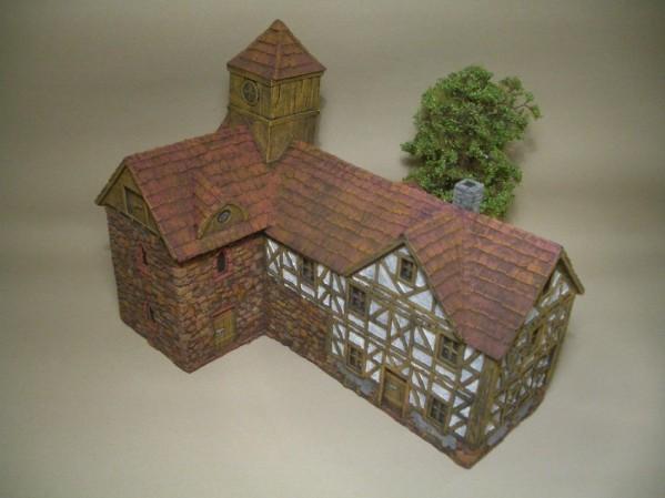 28mm Terrain: Abbey