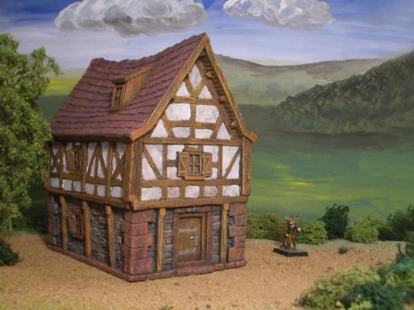 28mm Terrain: Broom Binder House