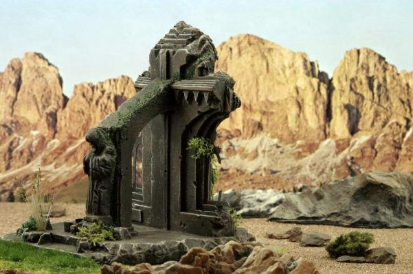 28mm Terrain: Cloister Amarillion