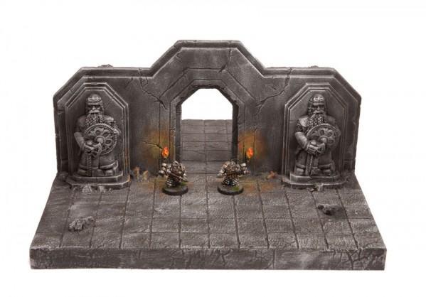 28mm Terrain: DunkelWelt Dwarf's Gate