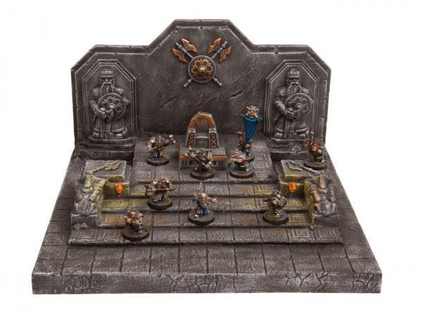 28mm Terrain:  DunkelWelt Throne Room