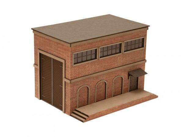 28mm Terrain: (Laser-cut Kit) Warehouse