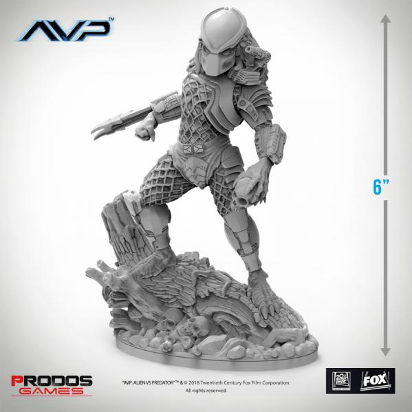 Alien vs Predator (AVP): Predator Jungle Hunter Statue
