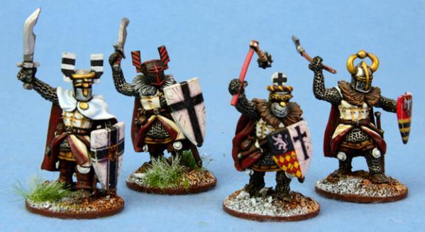 SAGA: Ordensstaat Heathguards with Hand Weapons (4)