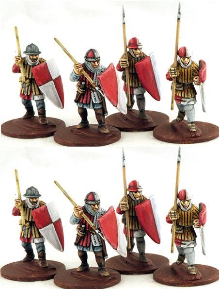 SAGA: Ordensstaat Warriors on Foot (8)