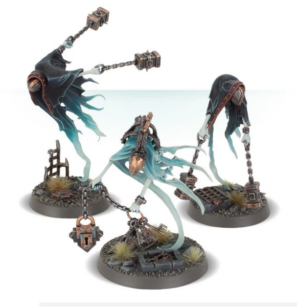 Age of Sigmar: Crawlocke the Jailor and Chainghasts