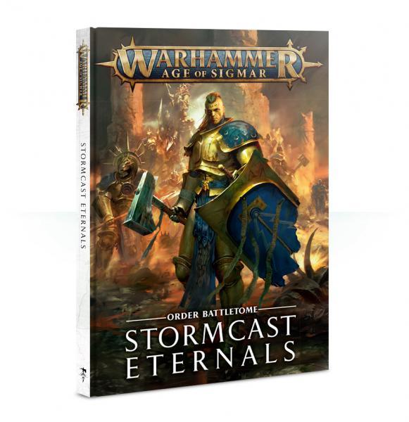 Age of Sigmar: Stormcast Eternals Battletome (2018) (HC)