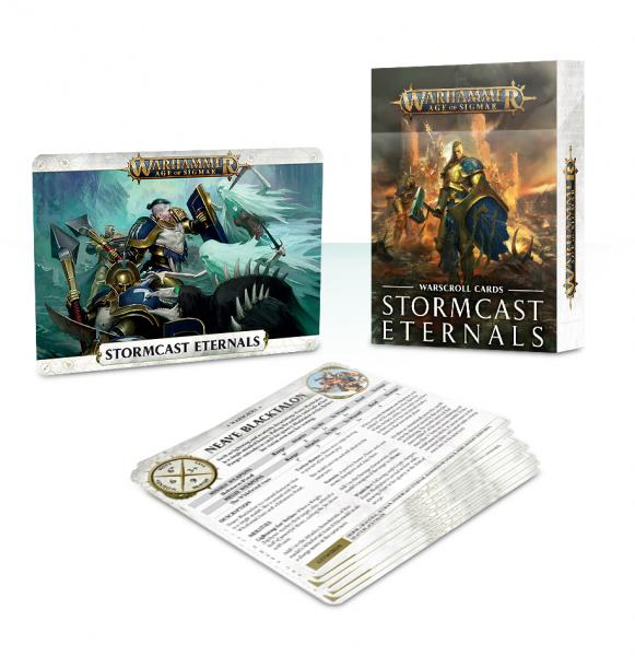 Age of Sigmar: Stormcast Eternals Warscroll Cards (2018)