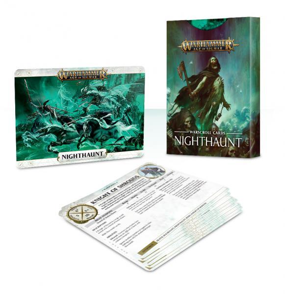 Age of Sigmar: Nighthaunt Warscroll Cards