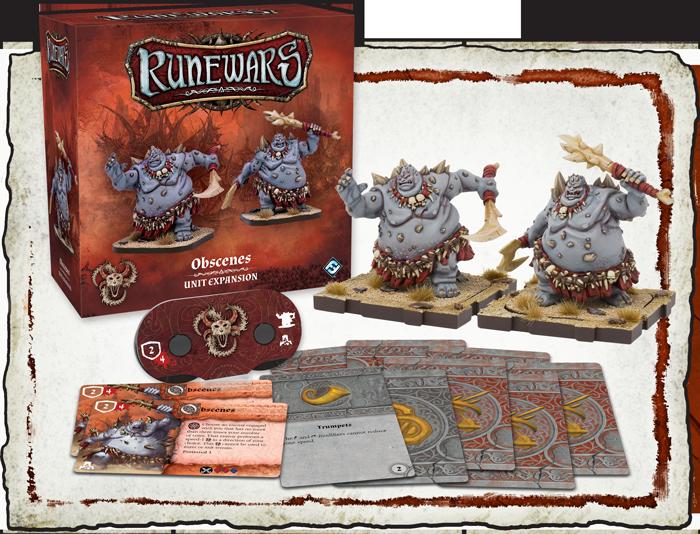 RuneWars: Obscenes Unit Expansion
