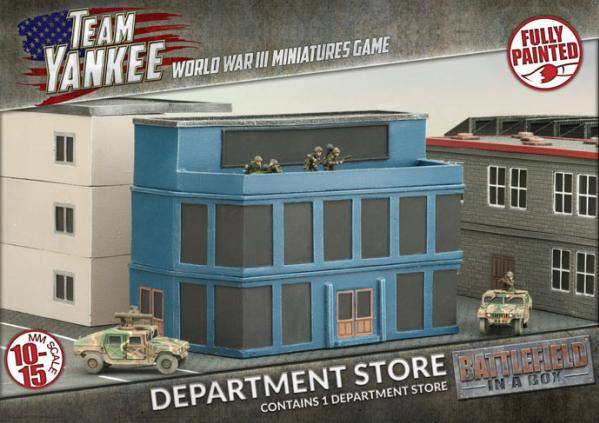 Flames of War: Battlefield in a Box - Department Store