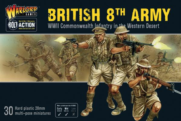 Bolt Action: British 8th Army Infantry
