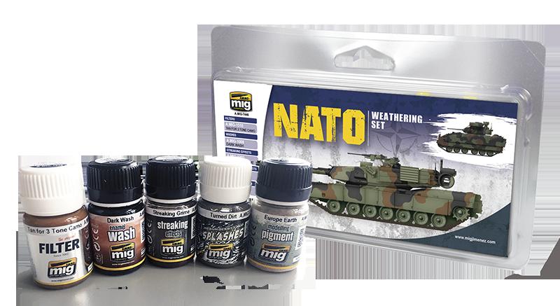 AMMO: Weathering - NATO Weathering Set