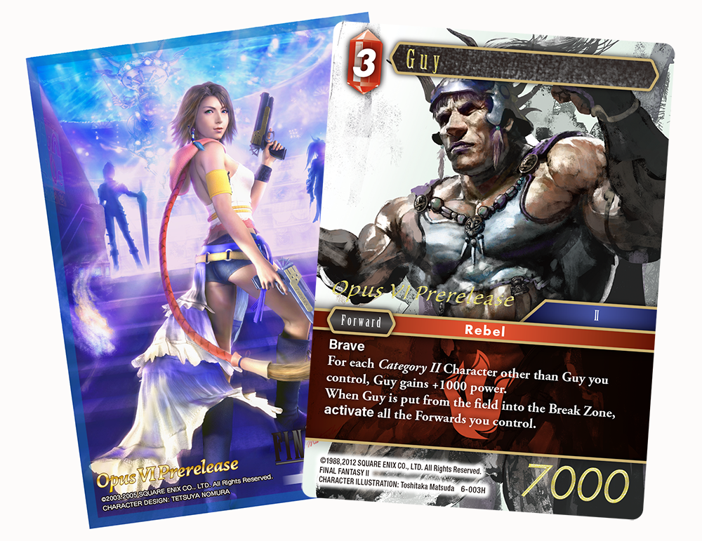 Final Fantasy TCG: Opus VI Pre-Release Pack [For Events Only]