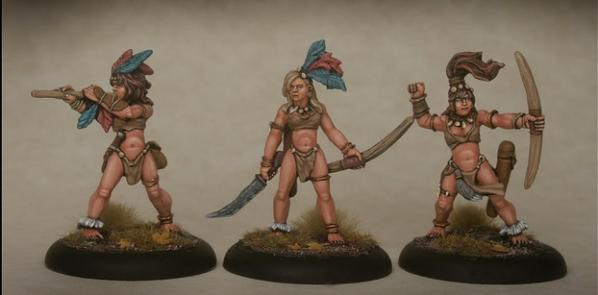 28mm Fantasy: Amazon Bods 1
