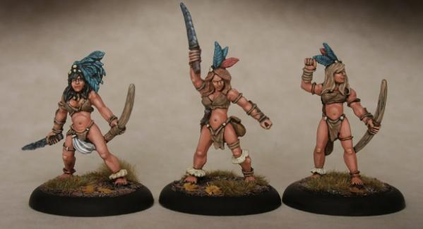 28mm Fantasy: Amazon Bods 2